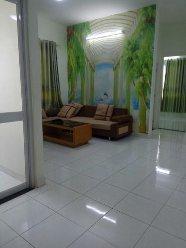 Phòng khách, Căn hộ Topaz Garden, Quận Tân Phú Căn hộ tầng 14 Topaz Garden hướng Đông Bắc thoáng mát, đầy đủ nội thất.