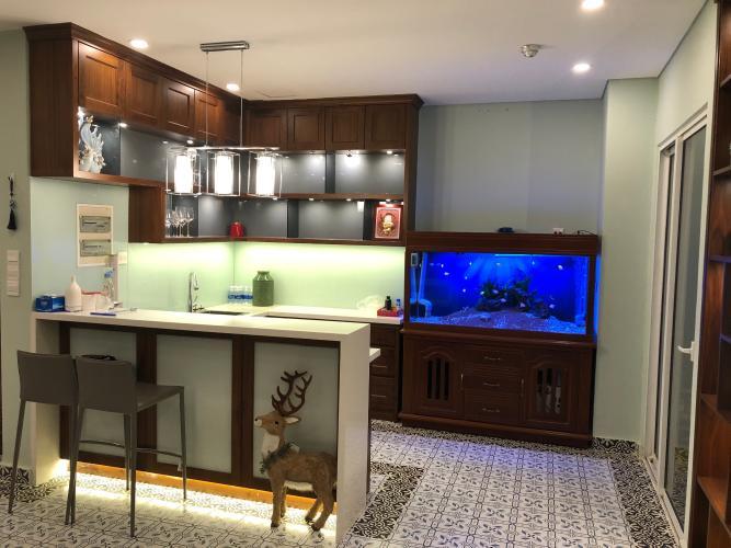 Phòng bếp Dragon Hill Residence and Suites, Nhà Bè Căn hộ Dragon Hill Residence And Suites hướng Đông thoáng mát.