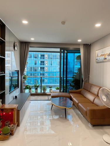 Căn hộ Sunwah Pearl tầng 9 cửa hướng Tây Nam, đầy đủ nội thất.