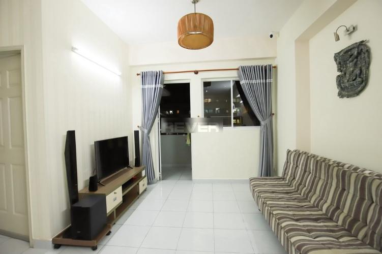 Căn hộ chung cư Lê Thành tầng trung view thoáng mát, nội thất cơ bản.