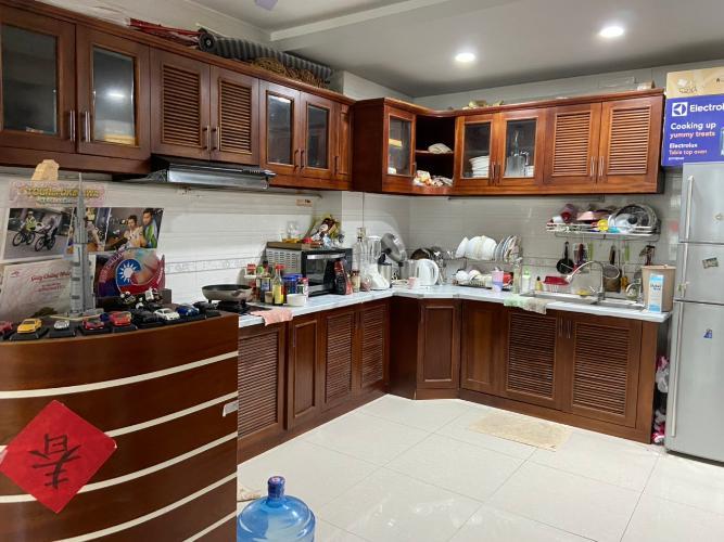 Phòng bếp căn hộ New Sài Gòn, Nhà Bè Căn hộ New Sài Gòn đầy đủ nội thất, thiết kế vô cùng hiện đại.