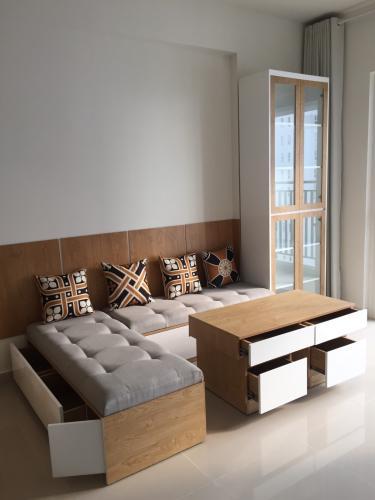 Căn hộ Sunrise Riverside tầng trung, đầy đủ nội thất sang trọng.