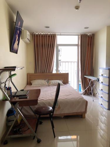 Phòng ngủ căn hộ Conic Skyway, Bình Chánh Căn hộ Conic Skyway 2 phòng ngủ, tầng trung view thoáng mát.