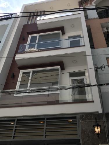 Nhà phố hẻm xe hơi đường Nguyễn Thị Thập, diện tích 74m2 không nội thất.