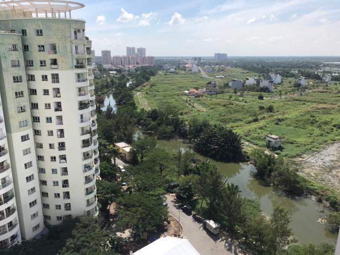 View căn hộ Conic Riverside, Quận 8 Căn hộ Conic Riverside hướng cửa Tây Bắc, nội thất cơ bản.