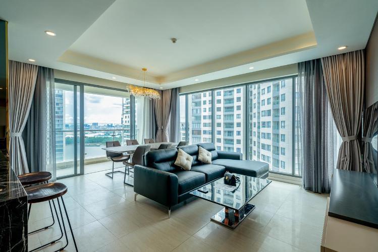 Cho thuê căn hộ Saigon Mia đầy đủ nội thất hiện đại và tiện nghi.