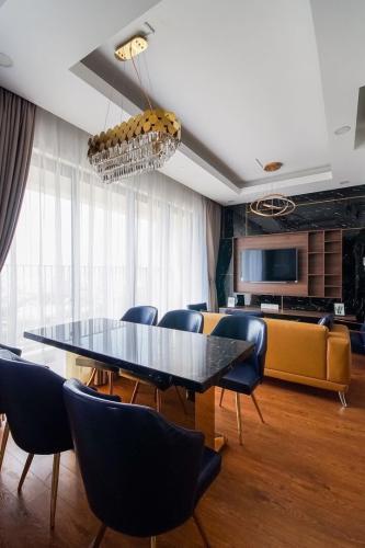 Căn hộ Masteri An Phú tầng 25 nội thất đầy đủ, view thoáng