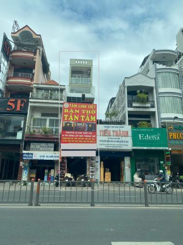 Nhà phố mặt tiền đường Bạch Đằng, diện tích 79.6m2 nở hậu.