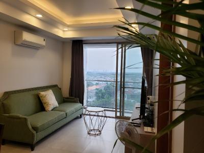 Căn hộ Happy Residence view thành phố, đầy đủ nội thất.