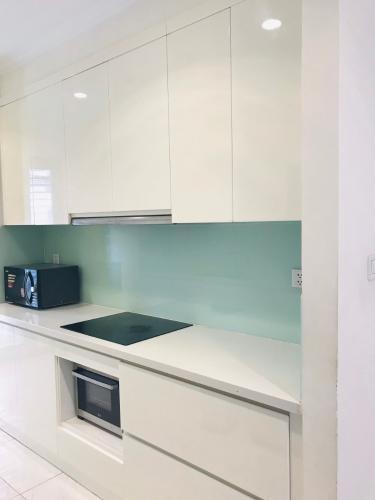 phòng bếp căn hộ Vinhomes Central Park Căn hộ Vinhomes Central Park tầng trung, nội thất cơ bản