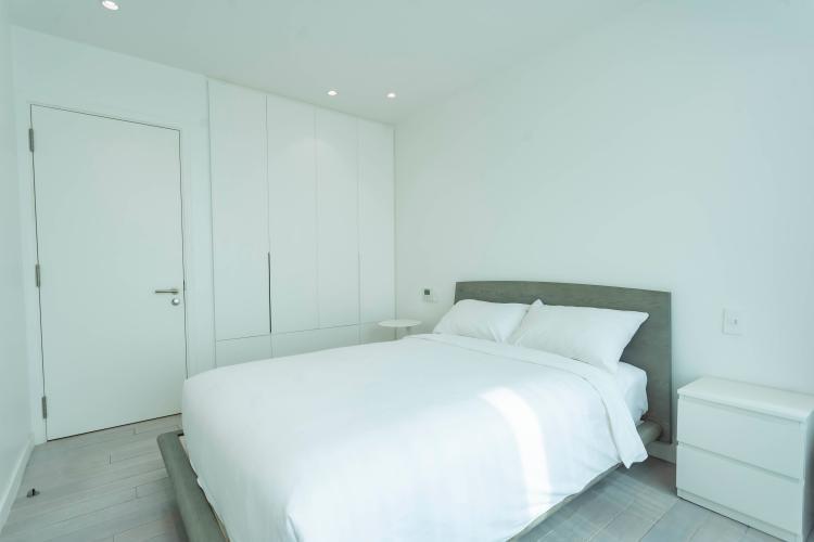 Phòng ngủ , Căn hộ Léman Luxury Apartment , Quận 3 Căn hộ tầng 15 Léman Luxury Apartments hướng Tây bắc, đầy đủ nội thất.