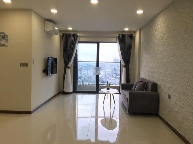 Căn hộ cao cấp De Capella đón view thành phố, nội thất đầy đủ.