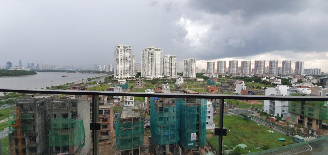 View căn hộ One Verandah, Quận 2 Căn hộ tầng 9 One Verandah cửa hướng Bắc, view thoáng mát.