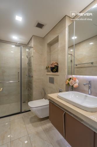 Toilet căn hộ VINHOMES GOLDEN RIVER Cho thuê căn hộ Vinhomes Golden River 1PN, tầng 19, đầy đủ nội thất
