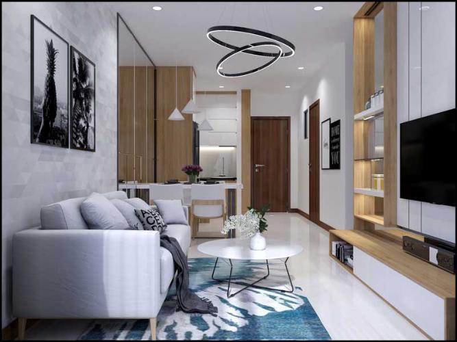 Căn hộ Bcons Green View tầng trung, nội thất cơ bản