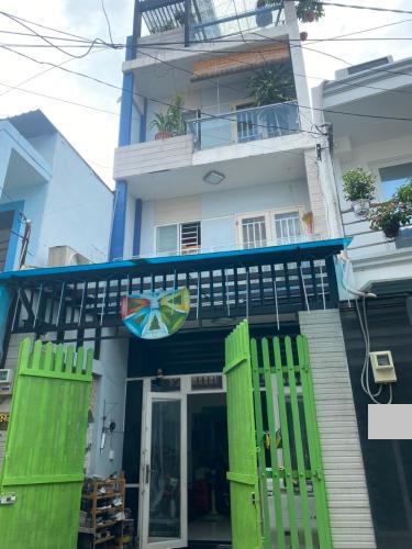 Nhà phố kết cấu 3 tầng diện tích 48m2, khu dân cư văn minh hiện đại.