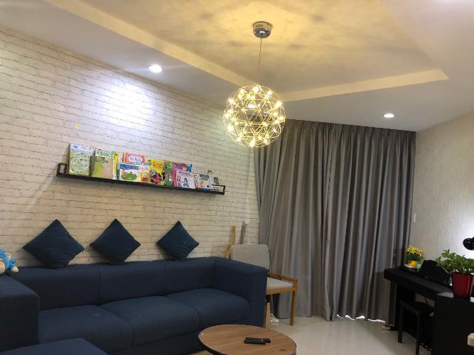 Căn hộ Him Lam Chợ Lớn tầng 21 view thành phố, đầy đủ nội thất.