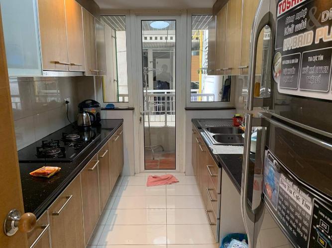 Phòng bếp Saigon Pearl Quận Bình Thạnh Căn hộ Saigon Pearl tầng thấp, nội thất đầy đủ.