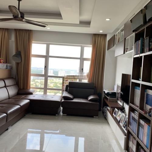 Căn hộ Happy Valley tầng cao view Phú Mỹ Hưng, nội thất cơ bản.