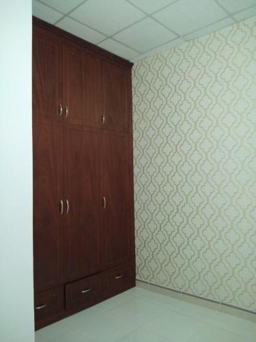 Phòng ngủ nhà phố Quận 12 Nhà phố hẻm xe hơi rộng 5m hướng Đông Bắc, nội thất cơ bản.