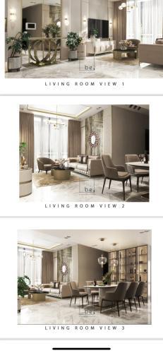 nhà mẫu căn hộ Empire City Thủ Thiêm  Căn hộ tầng 2 Empire City Thủ Thiêm nội thất đầy đủ, view thoáng