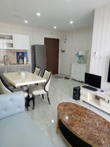 Phòng khách , Căn hộ Sunrise Riverside , Huyện Nhà Bè Căn hộ 2 phòng ngủ Sunrise Riverside tầng 10, đầy đủ nội thất.