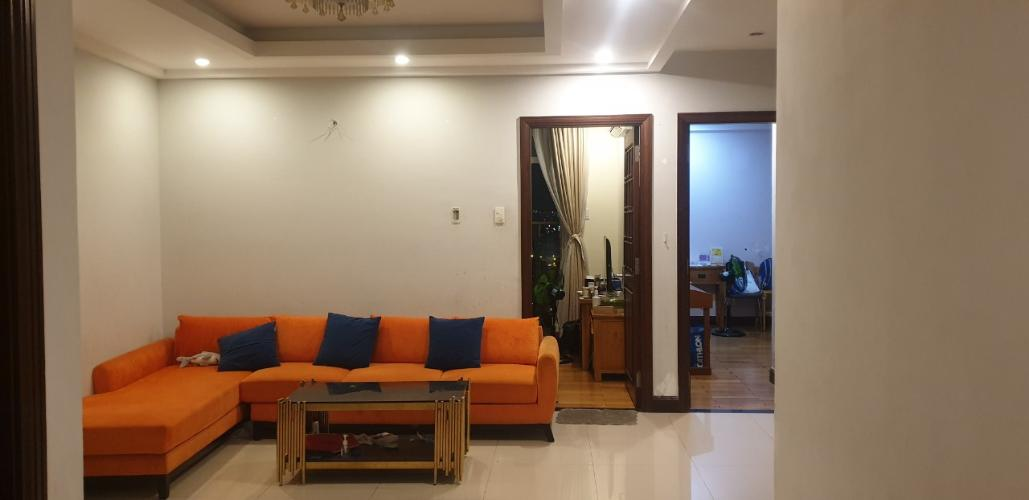 Căn hộ Him Lam Riverside tầng 10 đầy đủ nội thất, view thành phố.