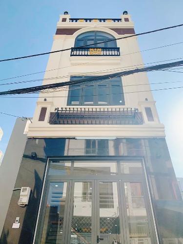 Mặt tiền nhà phố Quận Tân Phú Nhà phố Q.Tân Phú hướng Tây diện tích sử dụng 172.8m2, đầy đủ nội thất.