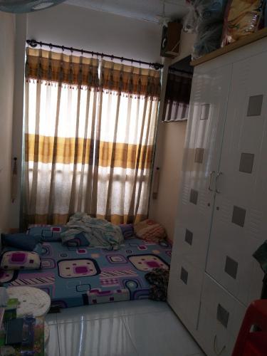 Phòng ngủ nhà phố Nhà phố Tân Phú hướng Đông Bắc diện tích đất 2.2mx12m, hẻm xe máy.