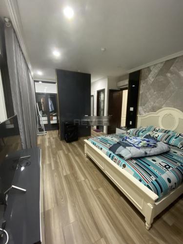 Phòng ngủ Xi Grand Court, Quận 10 Căn hộ Xi Grand Court tầng trung, nội thất đầy đủ.