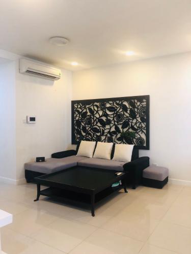 Phòng khách căn hộ Icon 56 Căn hộ Icon 56, nội thất đầy đủ, tầng cao view ngắm thành phố