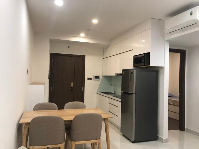 Phòng bếp căn hộ Saigon Royal, Quận 4 Căn hộ Saigon Royal tầng 17 hướng Tây Bắc, nội thất đầy đủ.