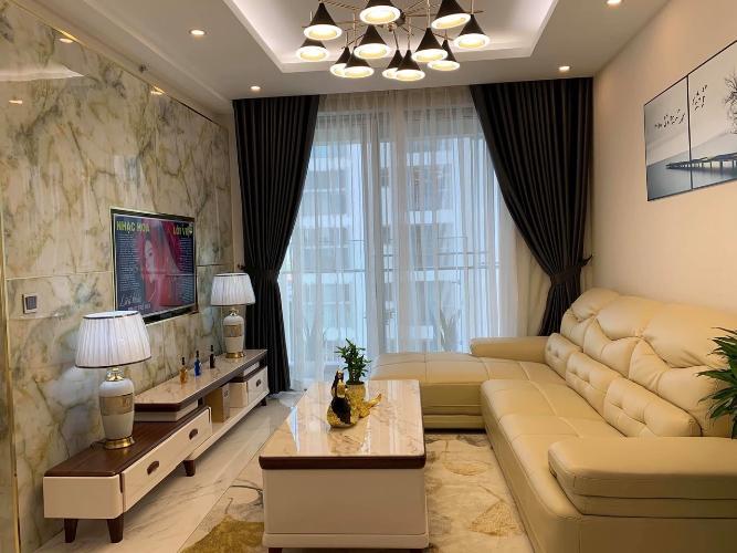 Phòng khách Phú Mỹ Hưng Midtown Căn hộ Phú Mỹ Hưng Midtown nội thất sang trọng, view nội khu.