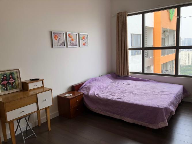phòng ngủ căn hộ The Sun Avenue Căn hộ The Sun Avenue tầng cao, view toàn cảnh thành phố.