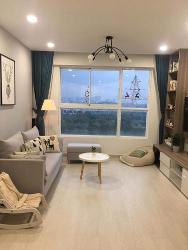 Phòng khách , Căn hộ CitiHome , Quận 2 Căn hộ chung cư CitiHome nội thất đầy đủ, view thành phố thoáng mát.