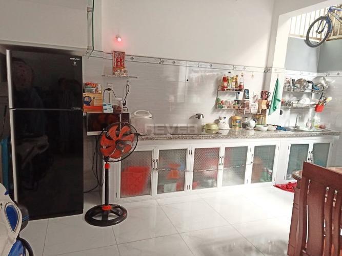 Phòng bếp nhà phố Huyện Bình Chánh Nhà 1 trệt 1 lầu Huyện Bình Chánh hướng Tây Nam, sổ hồng riêng.