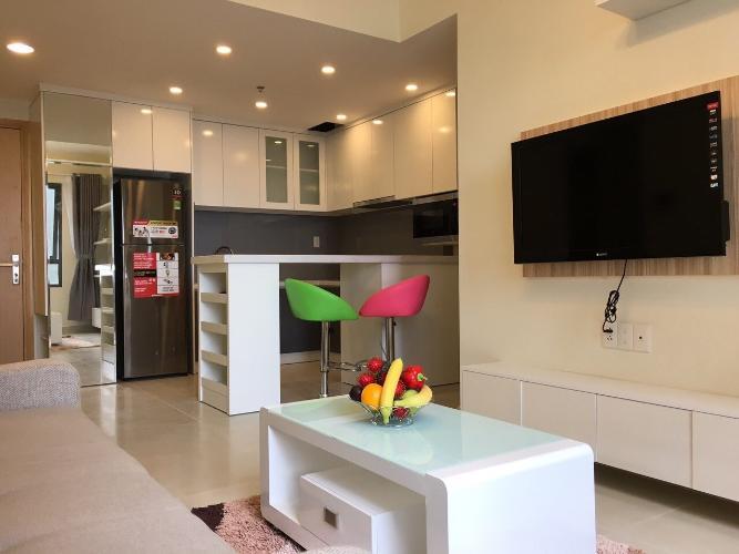 nội thất căn hộ 1 phòng ngủ masteri thảo điền Căn hộ Masteri Thảo Điền tầng cao đón view nội khu mát mẻ.