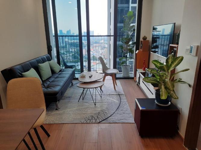 Căn hộ Eco Green Saigon 2 phòng ngủ thiết kế hiện đại đầy đủ nội thất