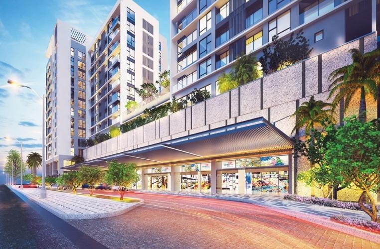 building  căn hộ urban hill Căn hộ Urban Hill ban công hướng Bắc thoáng gió