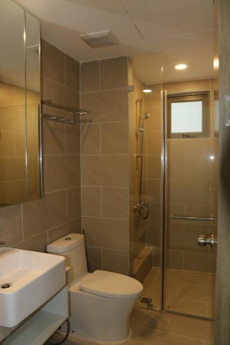 Phòng tắm , Căn hộ River Panorama , Quận 7 Căn hộ tầng trung River Panorama view thoáng mát, nội thất cơ bản.