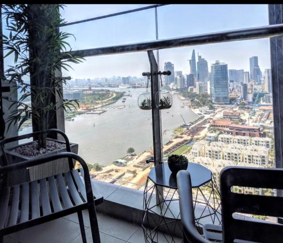 View căn hộ VINHOMES GOLDEN RIVER Bán căn hộ Vinhomes Golden River 1 phòng ngủ, tầng cao view đẹp, diện tích 49.5m2