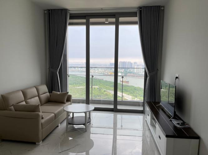 Căn hộ cao cấp Empire City tầng 26, đầy đủ nội thất và tiện ích.