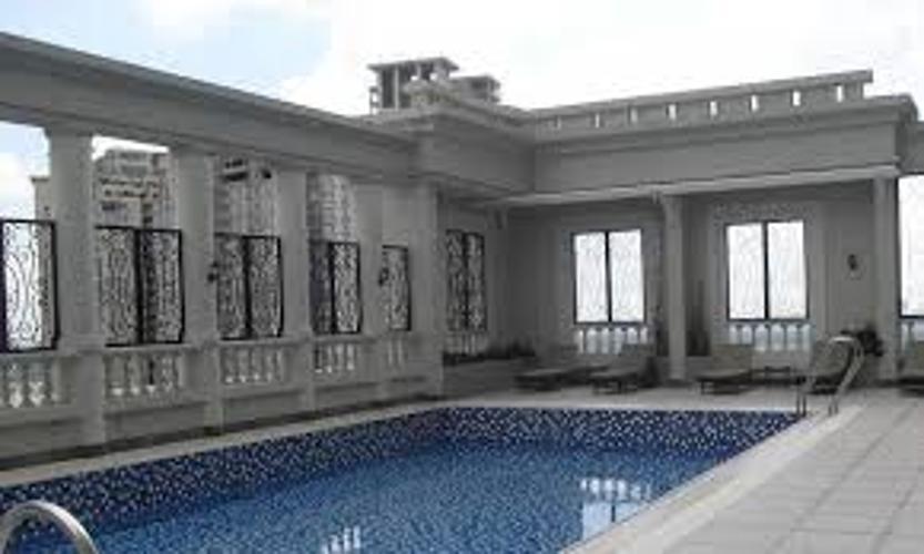 Hồ bơi The Manor Quận Bình Thạnh Căn hộ The Manor tầng trung, view hướng Đông Nam.