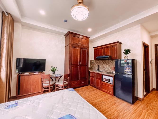 Phòng ngủ căn hộ dịch vụ Quận 2 Căn hộ dịch vụ Duplex Quận 2 có ban công, đầy đủ nội thất