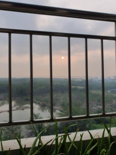 View V-Star, Quận 7 Căn hộ V-Star view sông, đầy đủ nội thất.