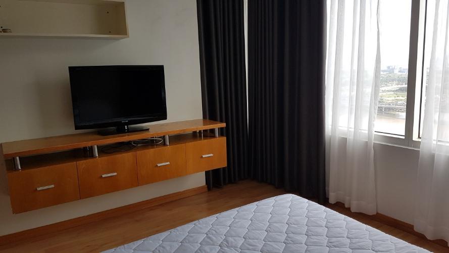 phòng ngủ căn hộ Saigon Pearl Căn hộ Saigon Pearl nội thất cơ bản, hướng Đông Bắc