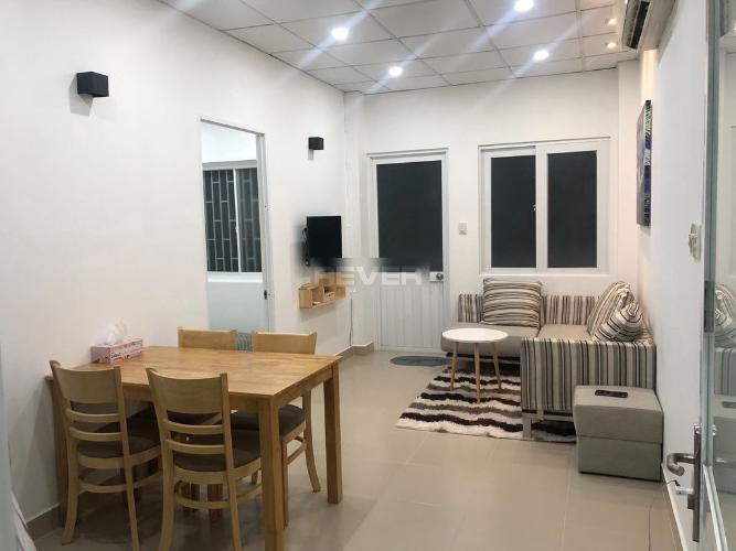 Căn hộ chung cư Nguyễn Đình Chiểu đầy đủ nội thất tiện nghi.