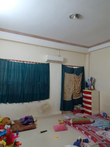 Phòng ngủ nhà phố Nhà phố diện tích sử dụng 104.3m2, hướng cửa Đông Bắc.