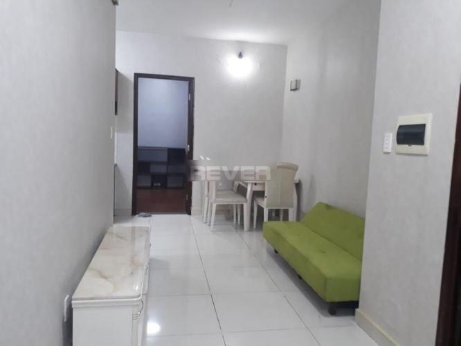 Căn hộ Phú Thạnh Apartment tầng 15 view thoáng mát, nội thất cơ bản.