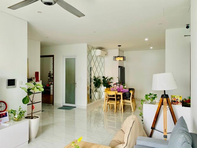 Phòng khách căn hộ D-Vela Căn hộ tầng 7 D-Vela view thành phố, ban công hướng Đông.